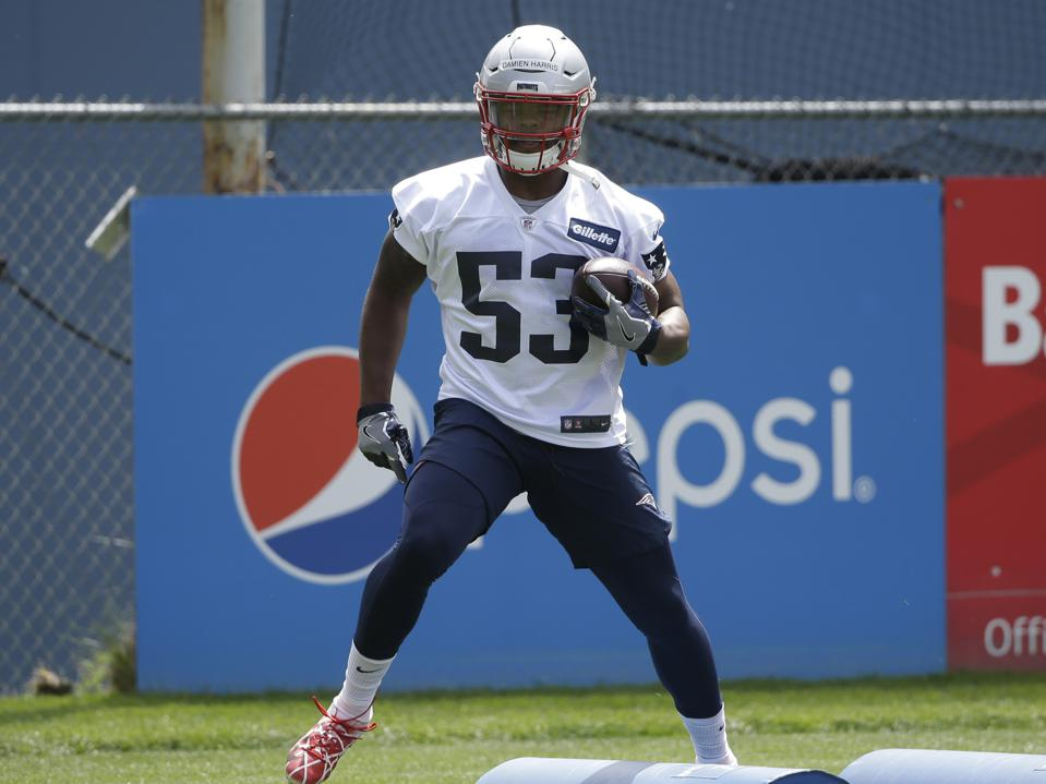 Image result for damien harris patriots
