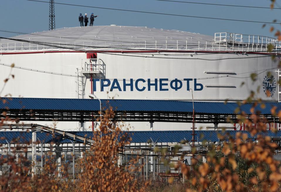 Russia Oil Calamity