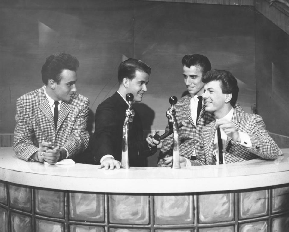 Dion And The Belmonts With Dick Clark