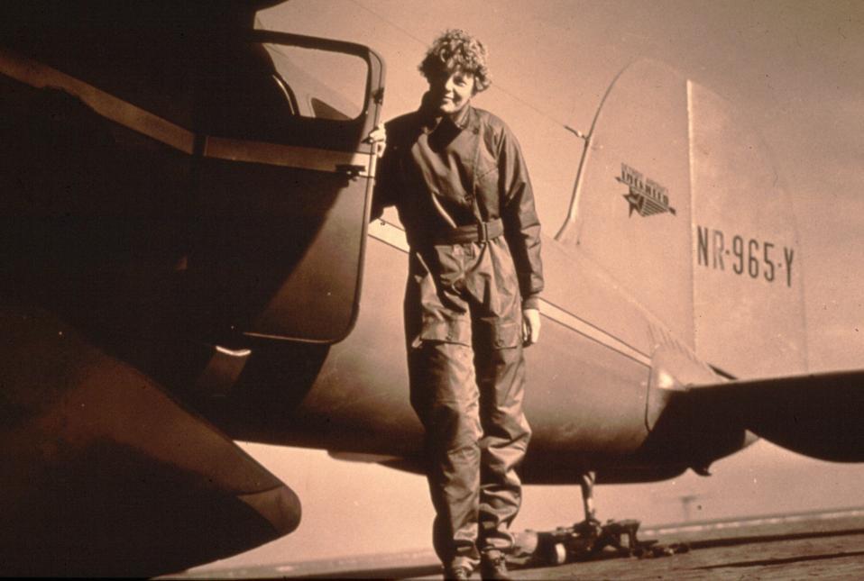 Pilot Amelia Earhart
