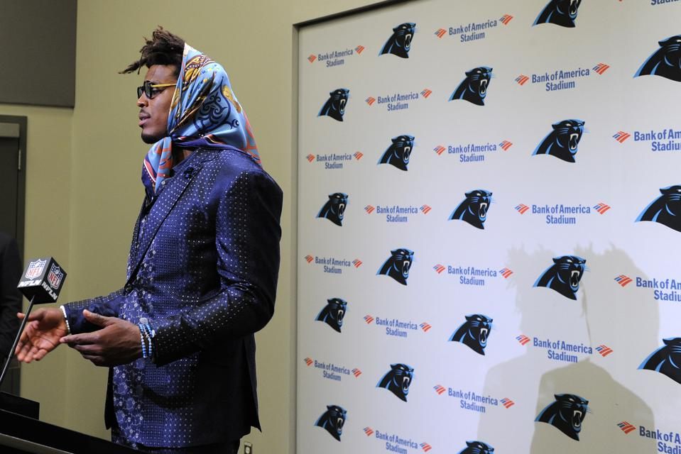 A Lesson In Career Accountability From Cam Newton. Hint: It's Not Fashion