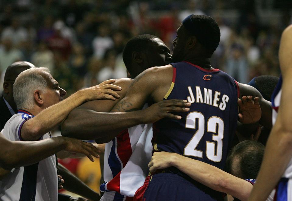 Cleveland Cavaliers v Detroit Pistons, Game 5