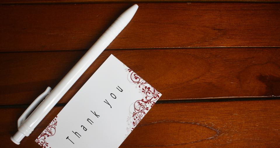 A Thank-You Letter To Your Co-Workers