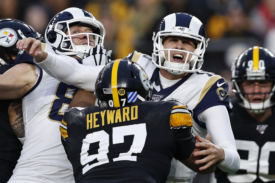 Rams Steelers Football