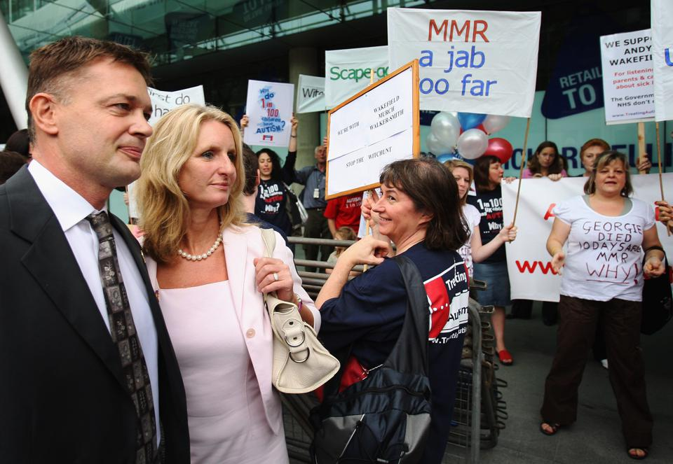 Doctors Face Charges Over MMR Vaccination Scare