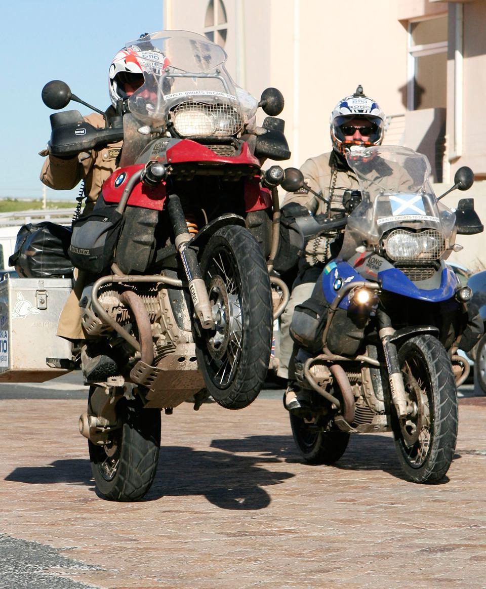Celebrity Travel: Ewan McGregor and Charley Boorman - ″Long Way Down″ - Photo Call