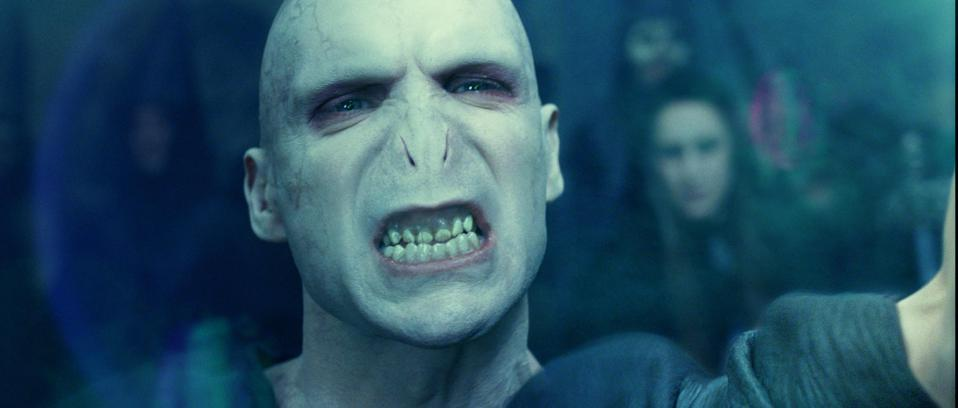 The Real Look of Lord Voldemort from ″Harry Potter and the Goblet of Fire″