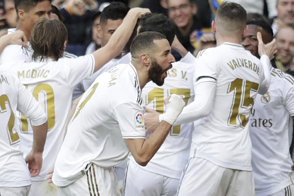 Karim Benzema Proves His Worth In Furiously Fought Madrid Derby