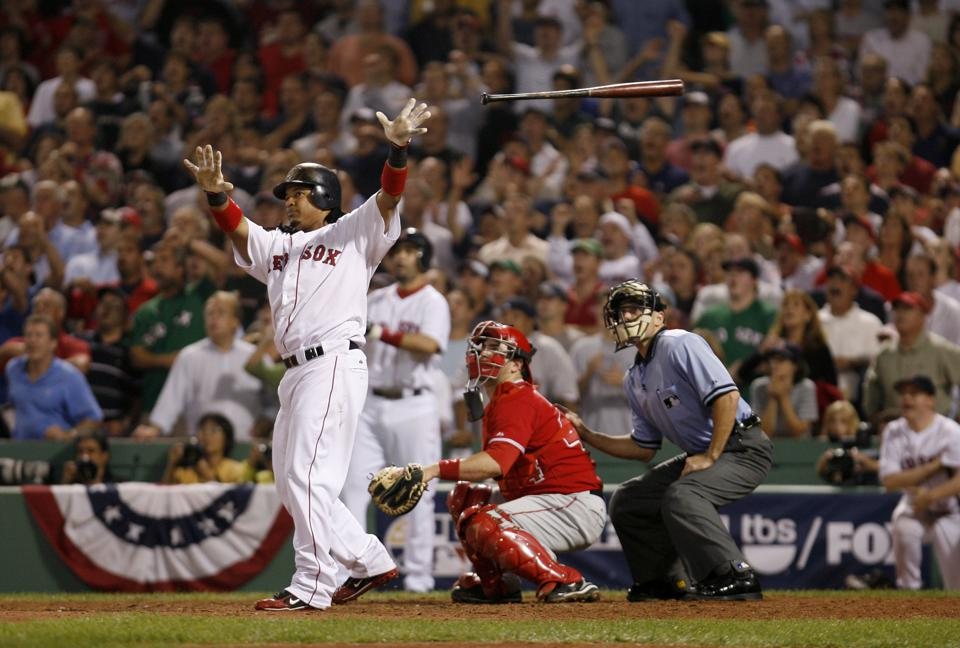 ALDS: Los Angeles Angels v Boston Red Sox, Game 2