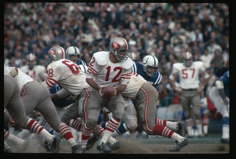 San Francisco 49ers v Baltimore Colts