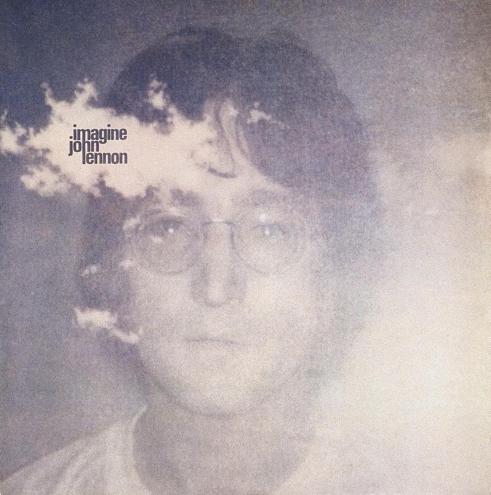 John Lennon's Imagine Album Cover