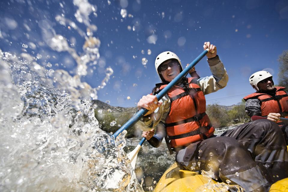 Whitewater rafting can be safe with the proper precautions.