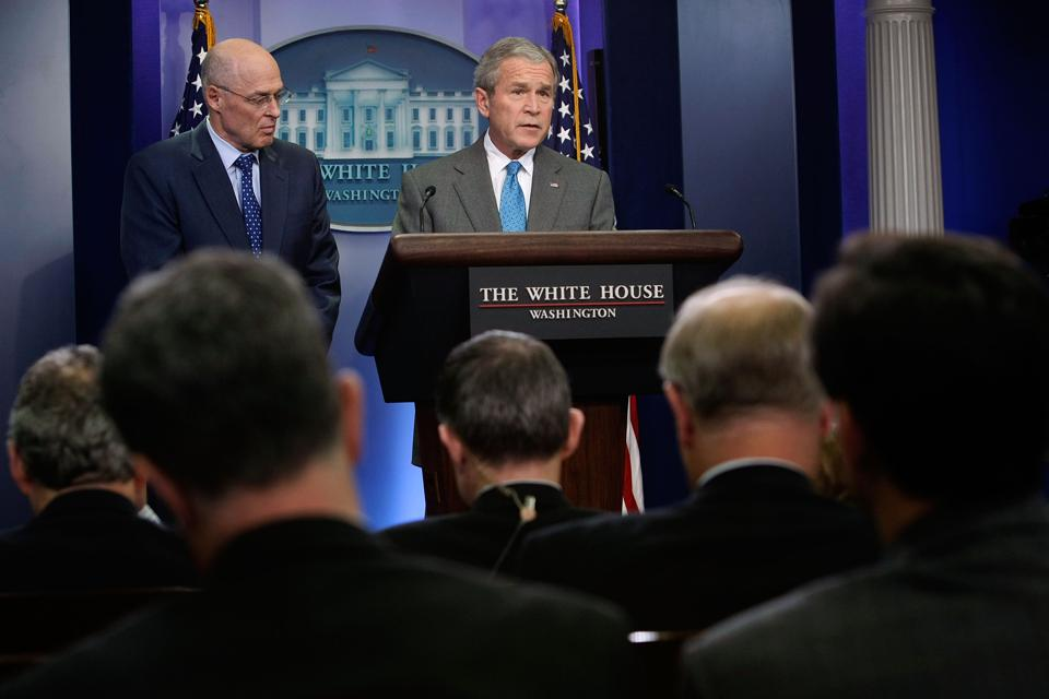 Bush Makes Statement On Bipartisan Economic Agreement