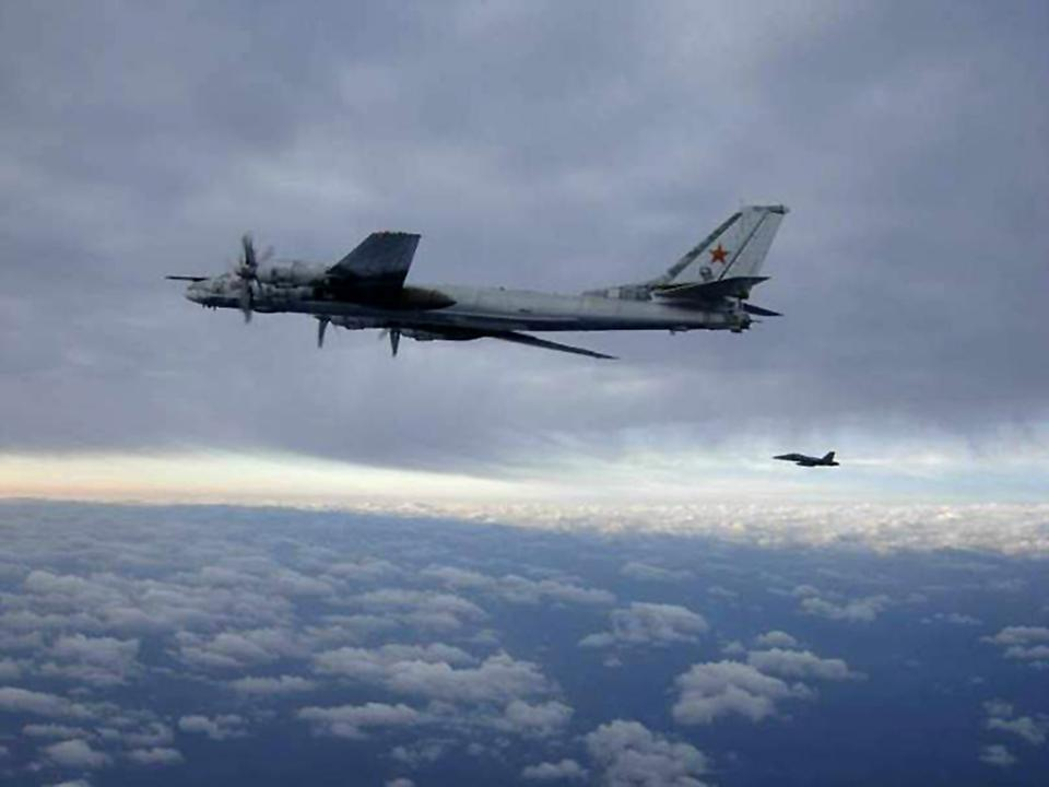 Nuclear-Capable Russian Bombers Fly Near U.S. To Intimidate America