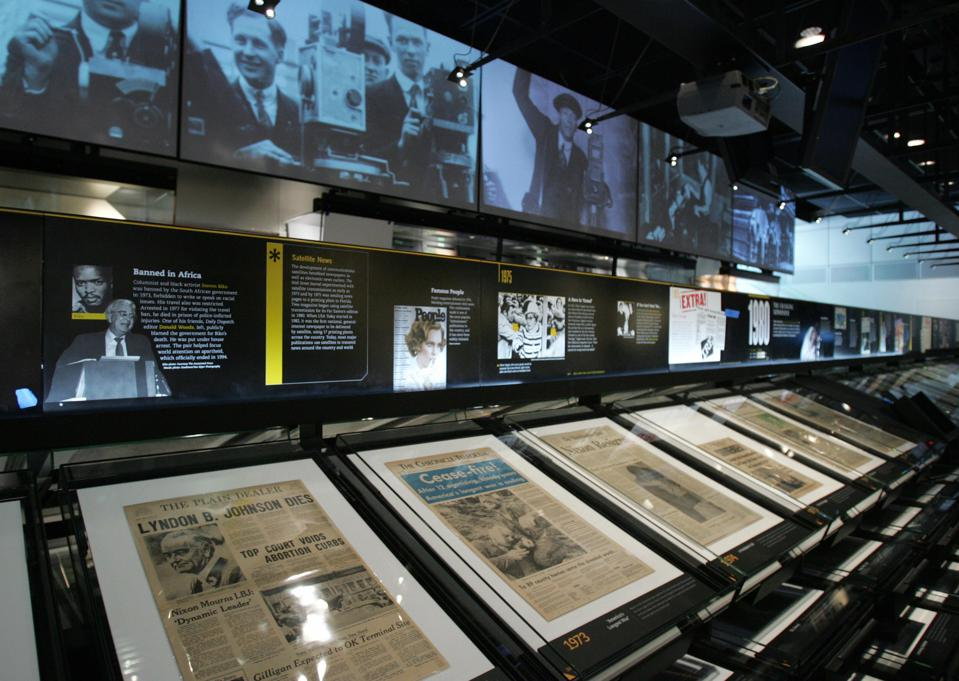 The News Corporation News History Galler