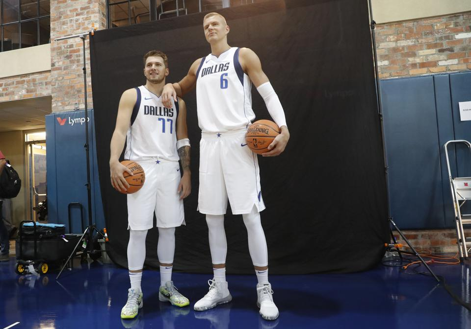 Luka Doncic And Kristaps Porzingis Are The New Faces Of The Dallas Mavericks