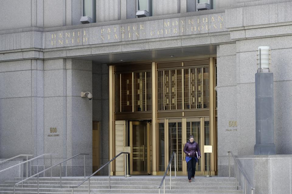 The Daniel Patrick Moynihan Courthouse in New York.
