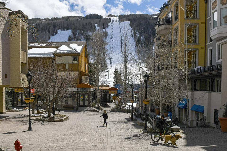 Virus Outbreak Colorado Ski Towns