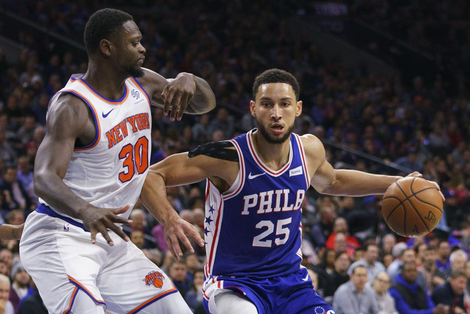 At Long Last, Ben Simmons Takes (And Makes) One From The Arc, Expanding His Repertoire