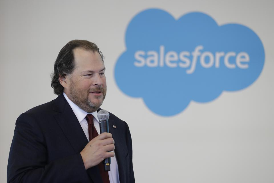 Marc Benioff Salesforce
