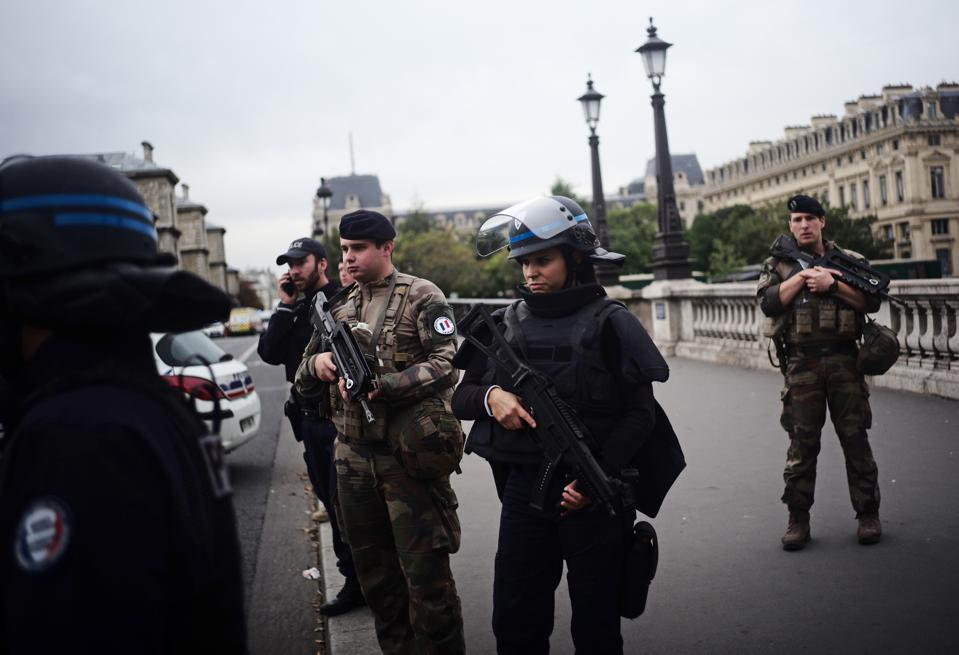 Police Officer Killed In Knife Attack At Paris Police Headquarters