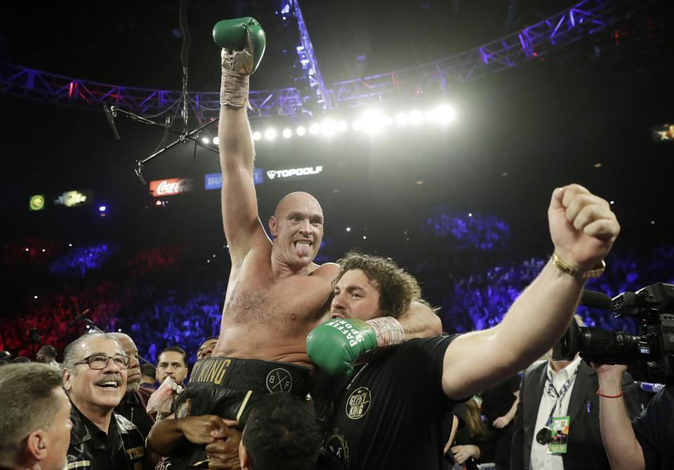 Tyson Fury vs Anthony Joshua purses odds