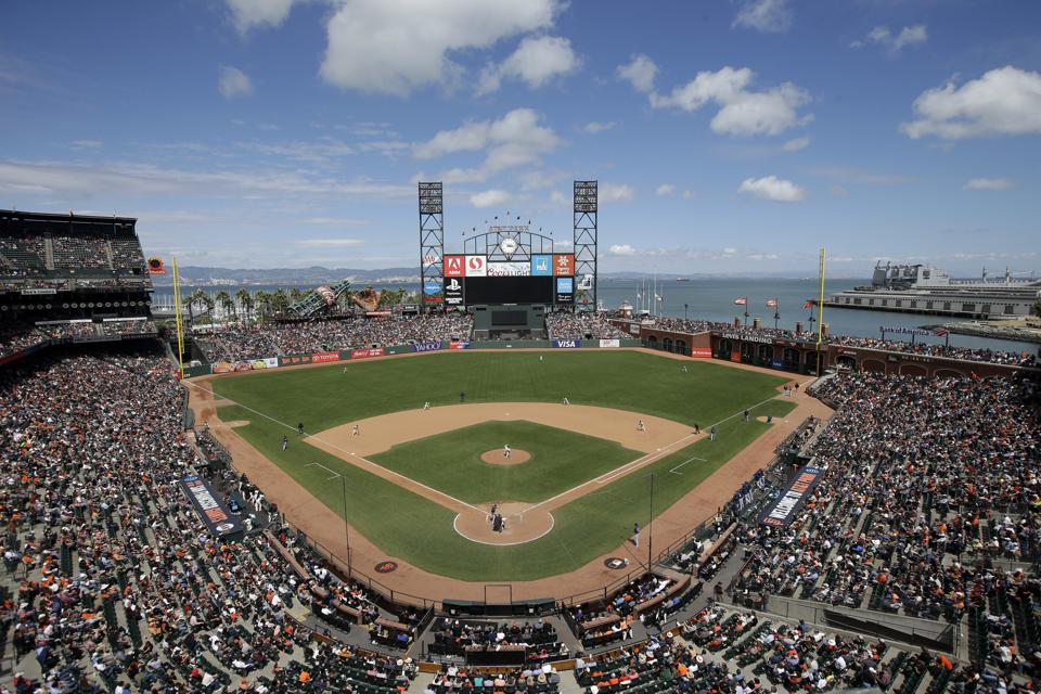 Giants bang exhibition game vs. A's