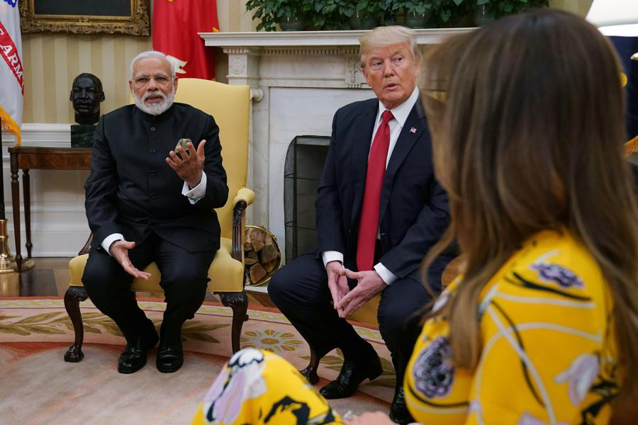 As Modi Visits Trump, India Is No. 1 For U.S. Diamond Trade, Ending Israel's Reign