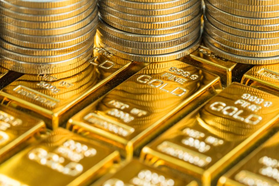 Investment funds backed by gold are buying and holding an increasing share of the world's gold.