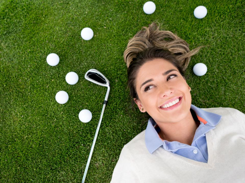 Women don't need to play golf to succeed in the business world.