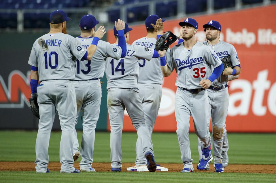 The Dodgers Lead The Mlb True Talent Team Rankings