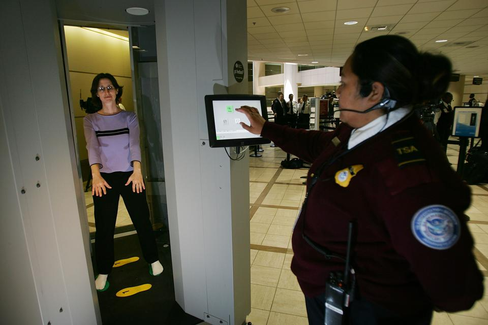 TSA Unveils Whole Body Imaging System At Los Angeles International Air