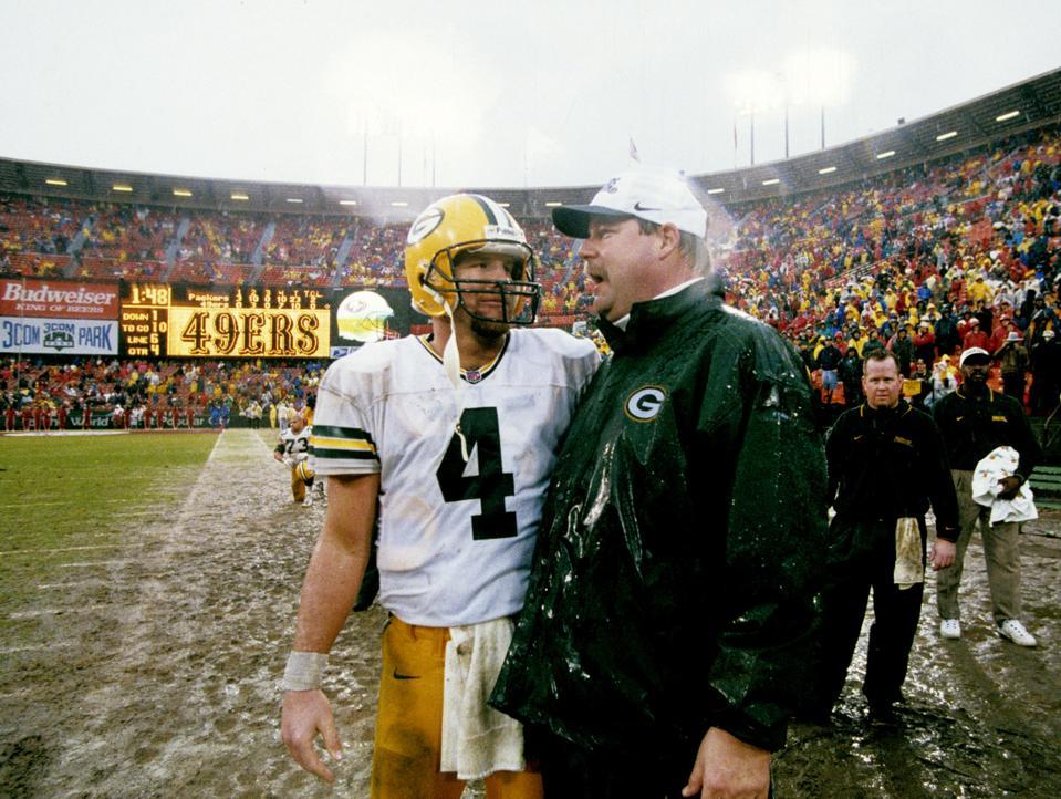 1997 NFC Championship Game - Green Bay Packers vs San Francisco 49ers - January 11, 1998