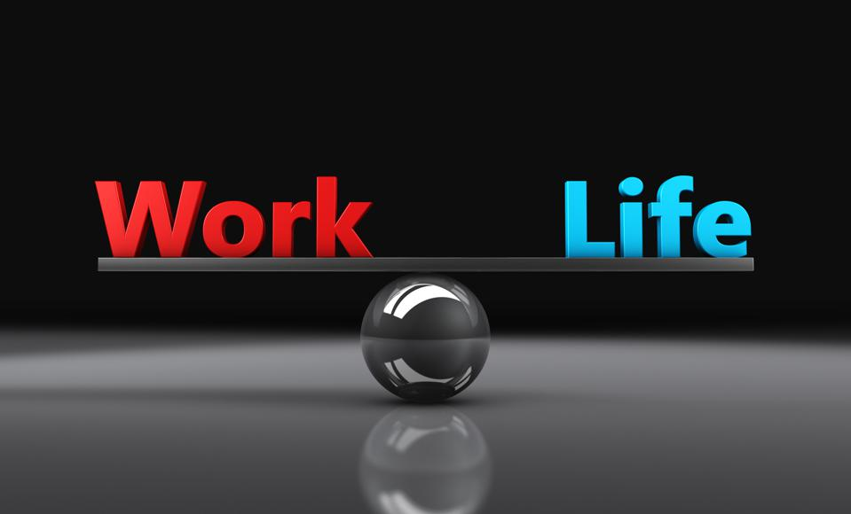 You can assess your work/life balance by paying attention to the four spokes of life.