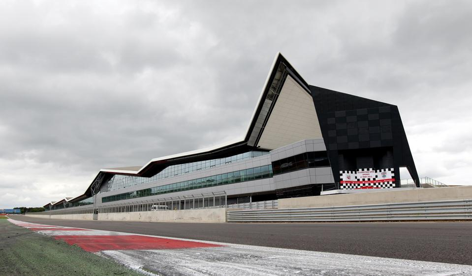 The angular pit and paddock complex at Silverstone drove up its debt (David Davies/PA Images via Getty Images)