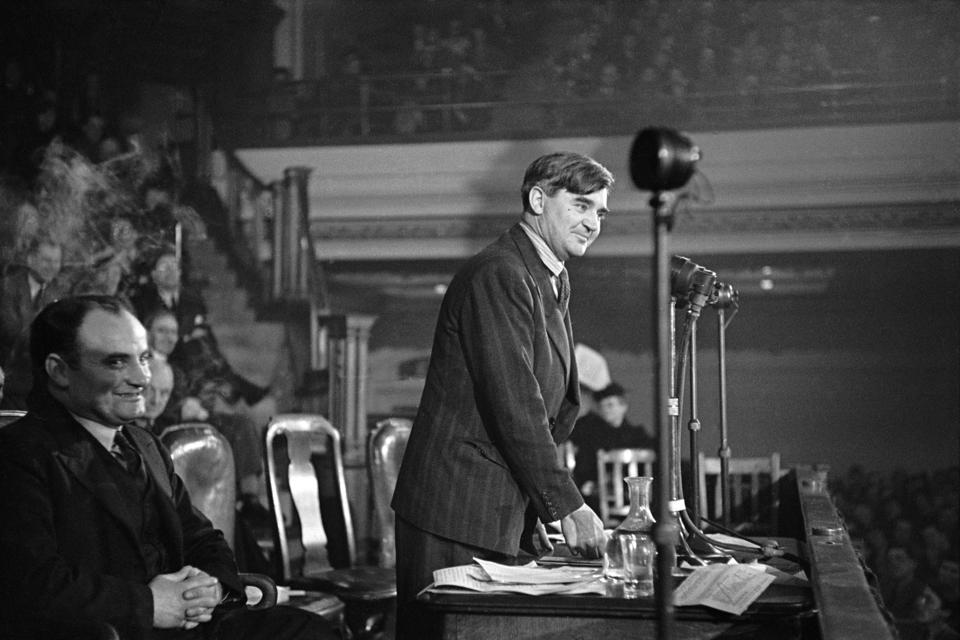 Aneurin Bevan. The Architect Leader. Creator of the National Health Service. NHS
