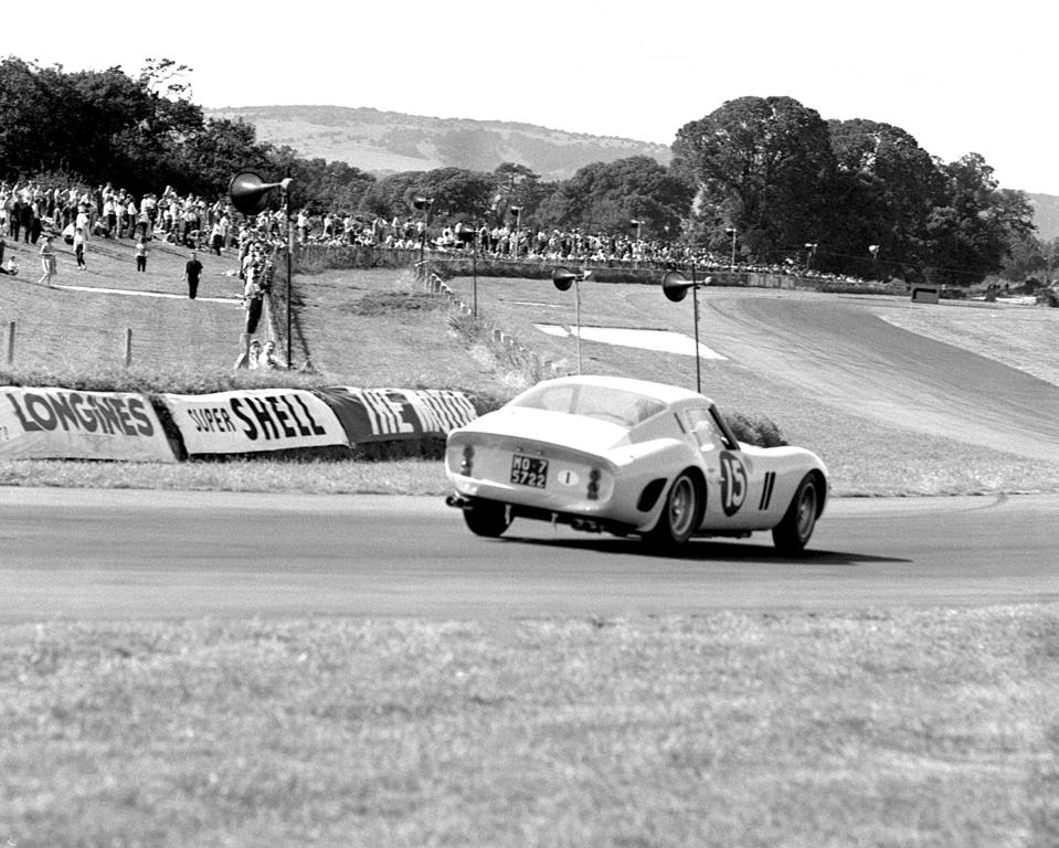 The Ferrari 250 GTO was unstoppable in its class between 1962 and 1964.