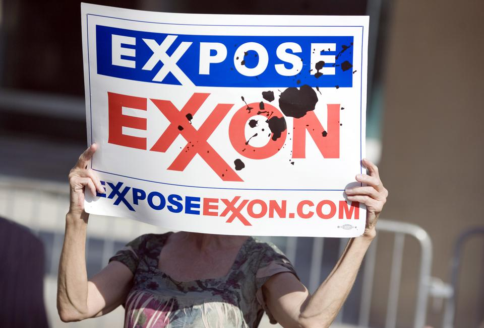 ExxonMobil Holds Annual Shareholder Meeting In Dallas