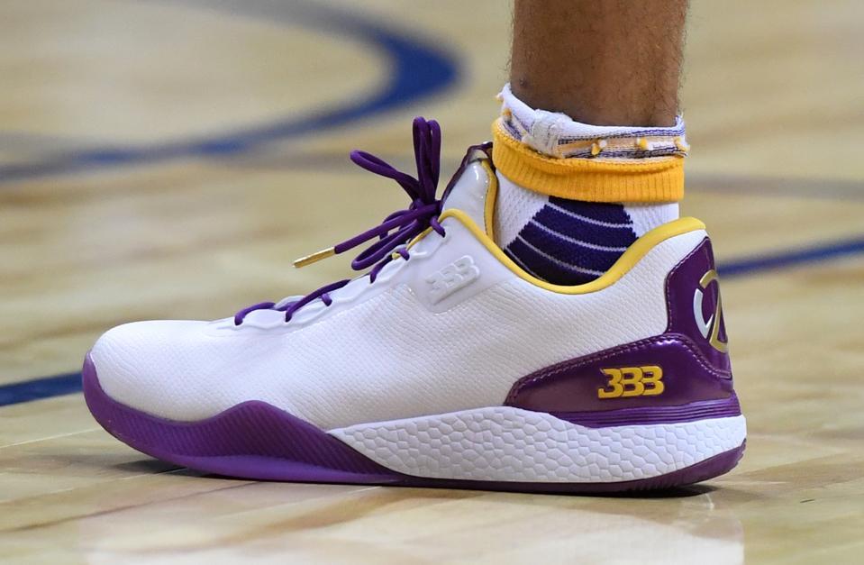 ball shoes. \u0027nba 2k18\u0027 news: lonzo ball will wear big baller brand shoes in the game