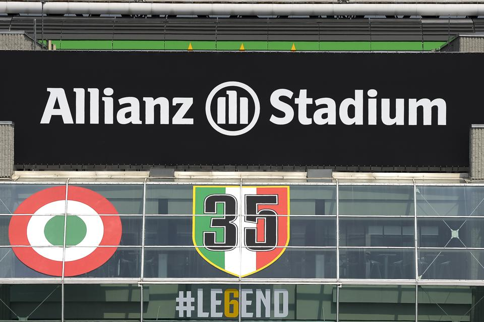 Juventus Stadium is renamed Allianz Stadium...