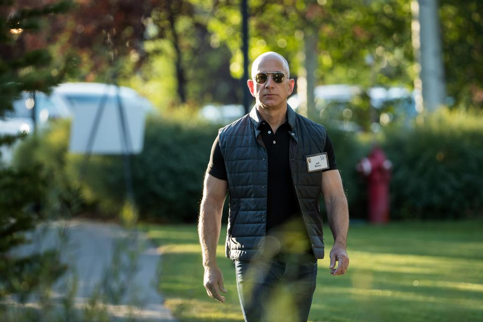 Image result for Amazon CEO, Jeff Bezos becomes the richest person in the world again after adding $6.8 billion to his net worth