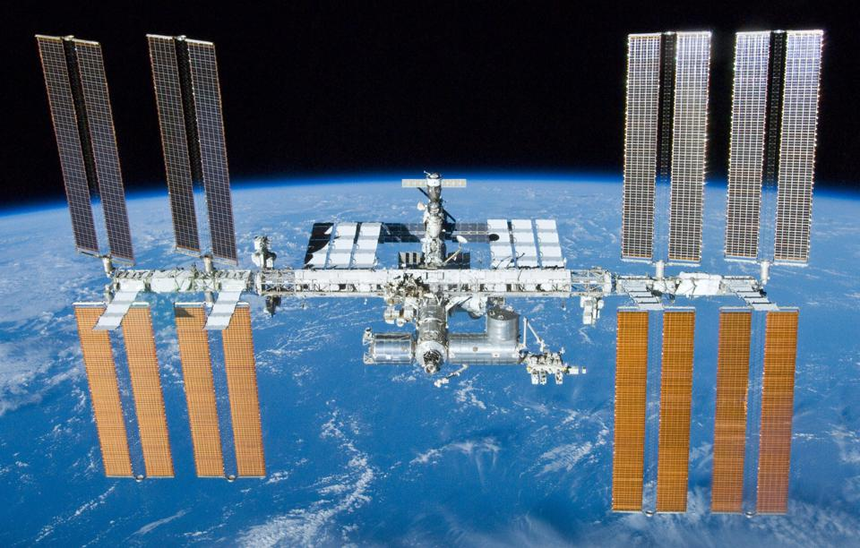 International Space Station after undocking of STS-132 2010.