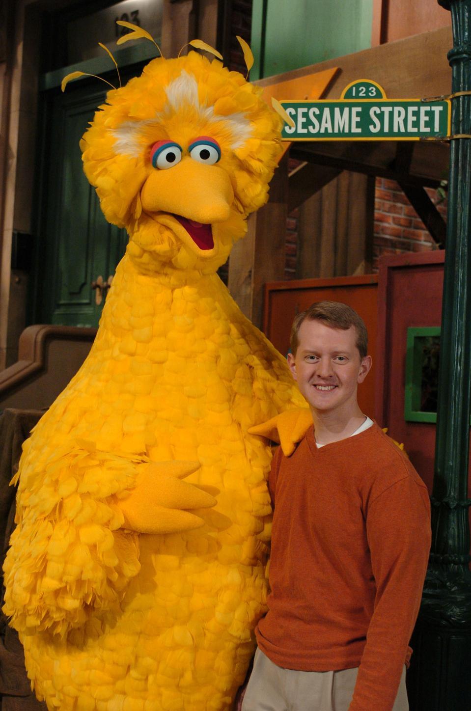 ″JEOPARDY!″ Champion Ken Jennings Visits Sesame Street - December 2, 2004