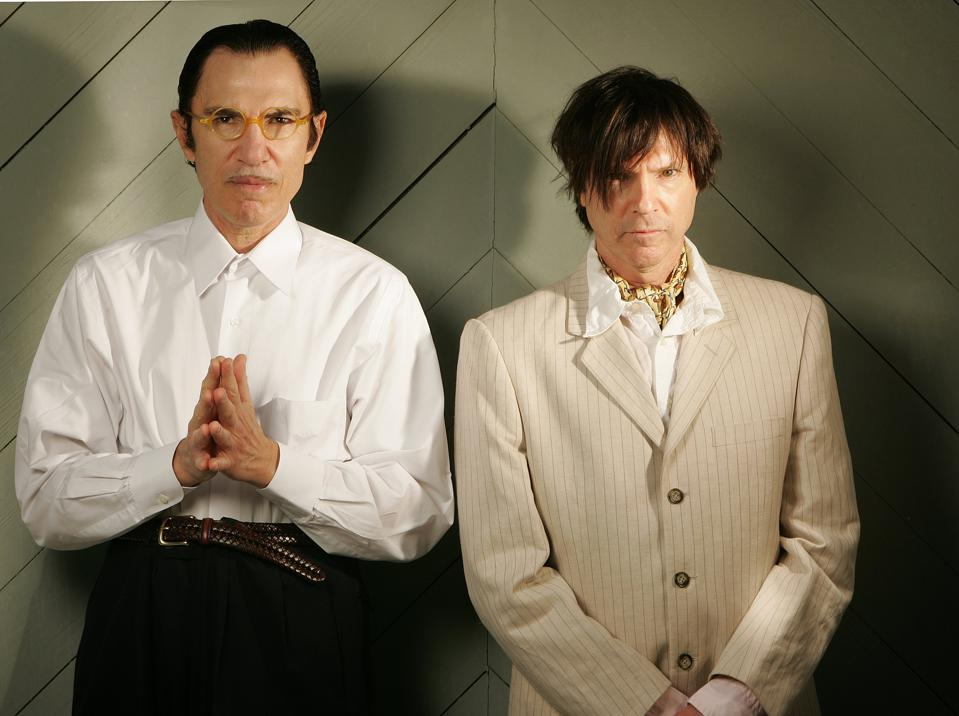 Ron and Russell Mael Portrait Shoot