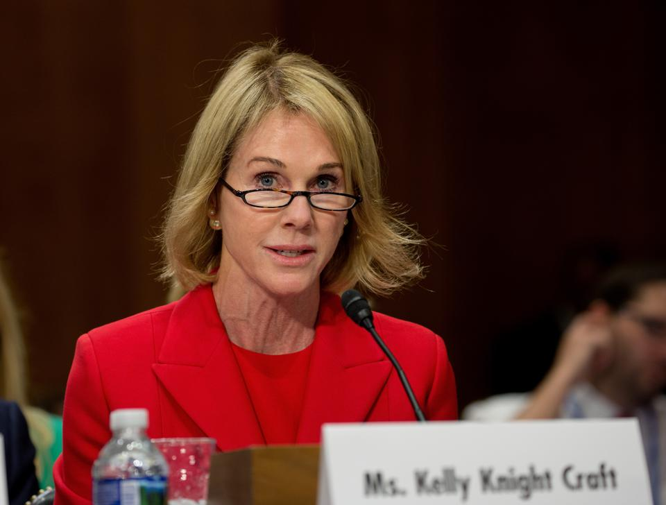 Senate Foreign Relations Committee Confirmation Hearing For Kelly Craft, President Trump's Nominee For U.S. Ambassador To Canada