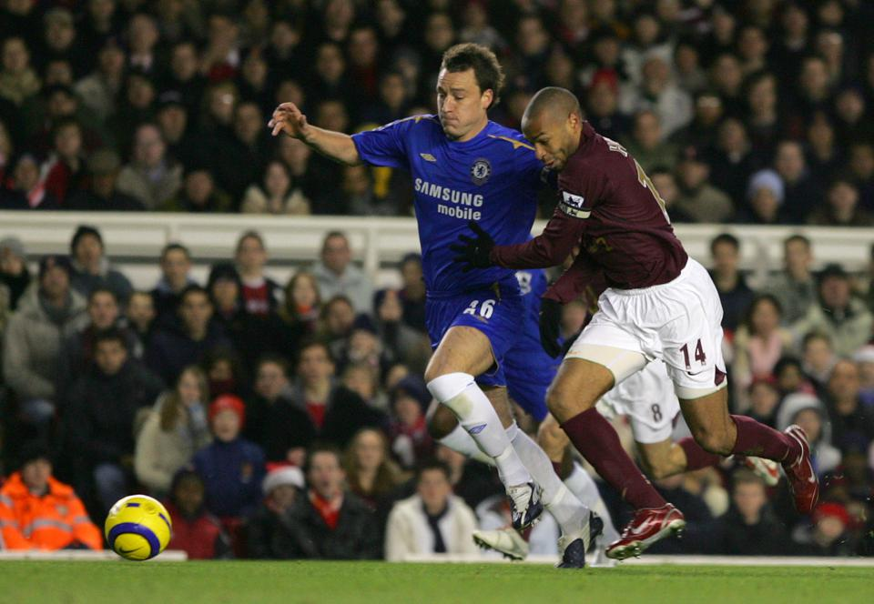 Duel John Terry / Thierry Henry