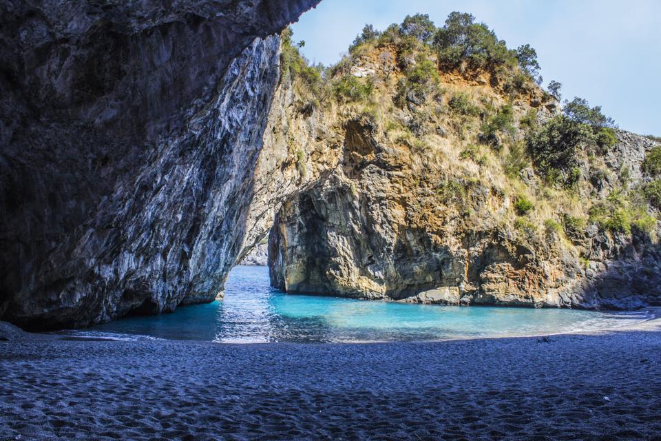 San Nicola Arcella, Arco Magno Beach and Rocks, South Italy, Calabria