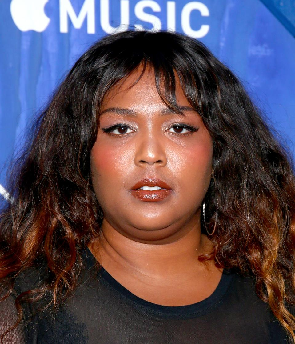 Lizzo attends Apple Music documentary film premiere at The Metrograph in New York City. Photo: Paul Zimmerman