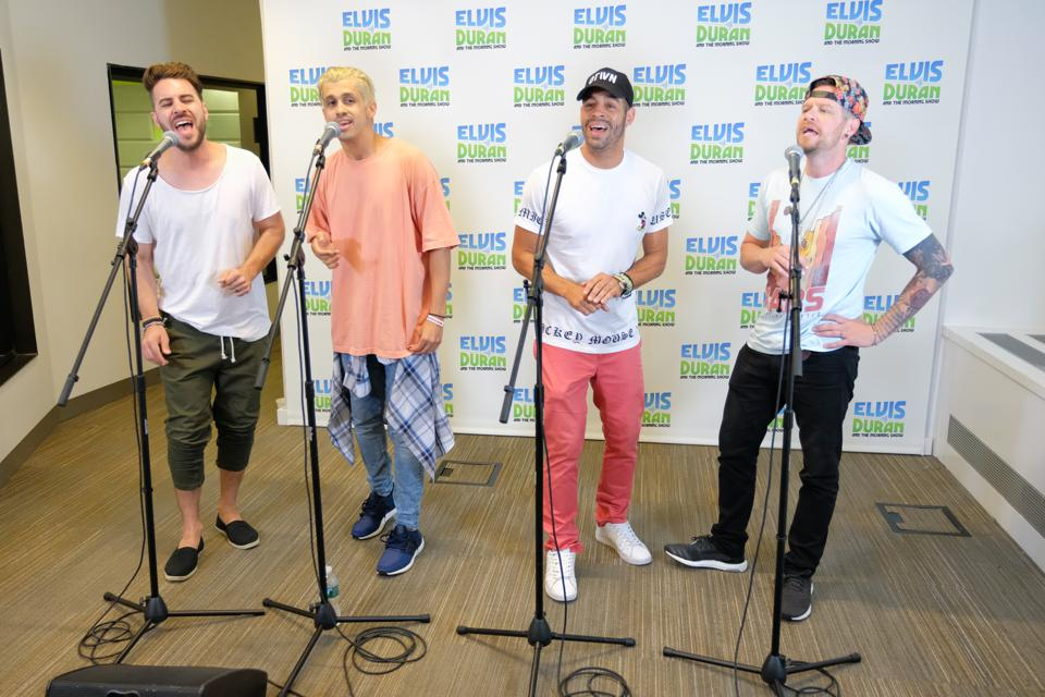 O-Town Visits ″The Elvis Duran Z100 Morning Show″