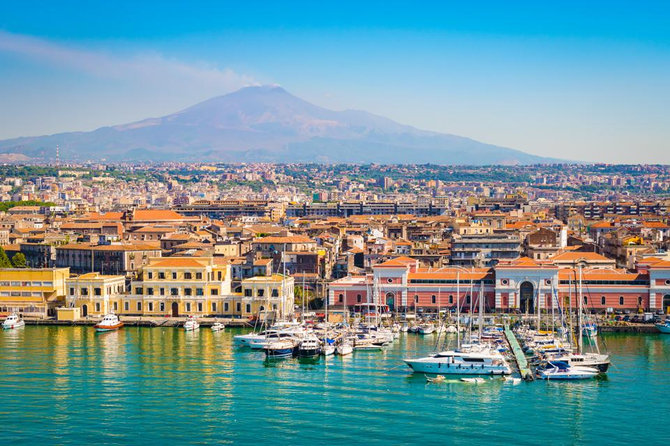 Catania Sicily Italy travel deal coronavirus